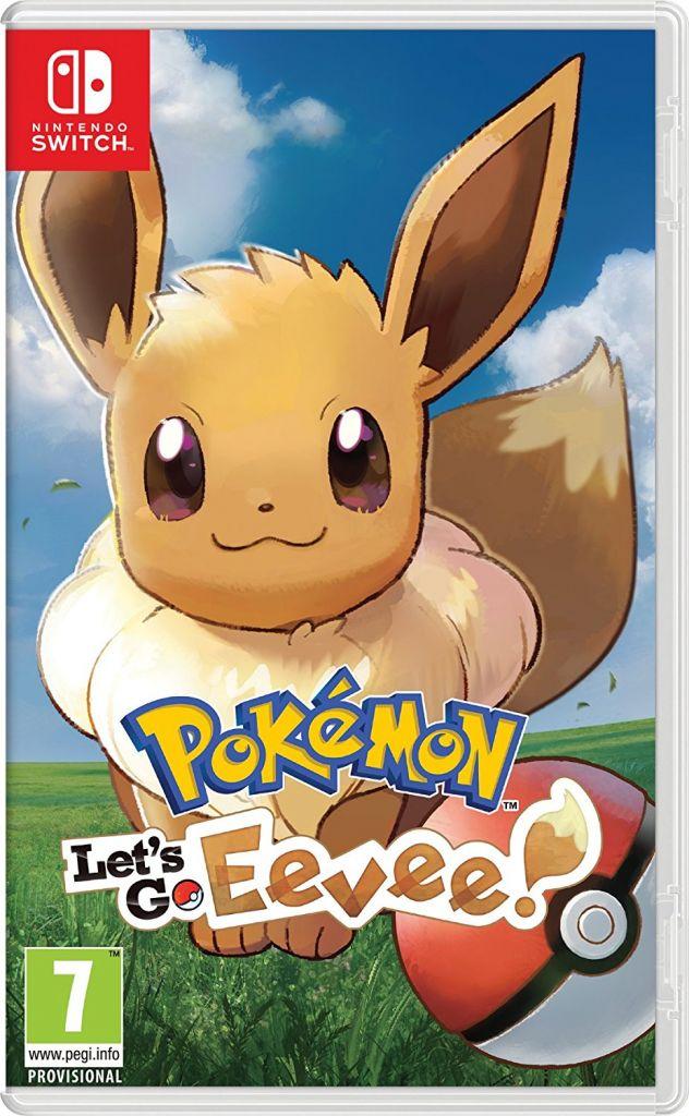Pokemon Let's Go Eevee Nintendo Switch מכירה מוקדמת