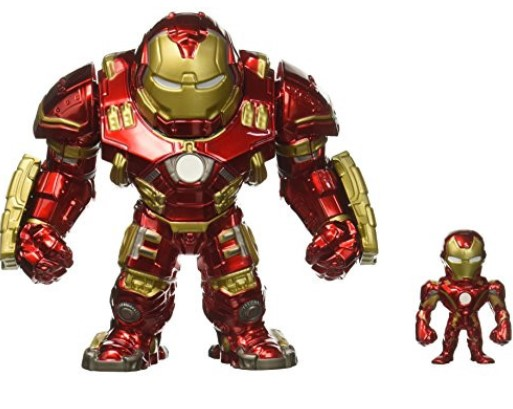 """Barcode for Jada Marvel Avengers: Age Ultron - 6"""" Hulkbuster & 2"""" Iron Man (M132) Metals Die-cast Collectible Toy Figure"""