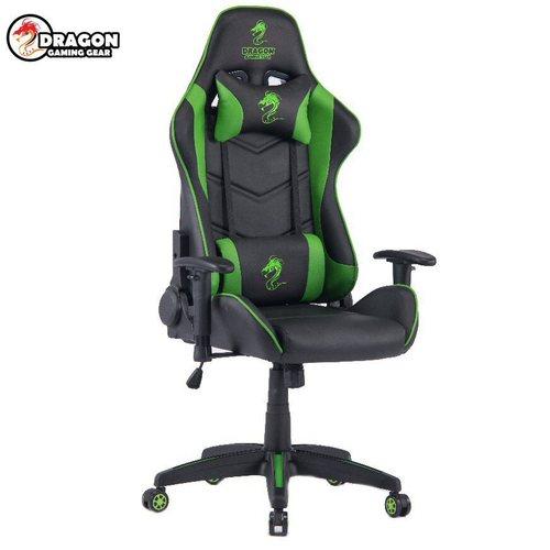 מושב גיימרים Dragon Olympus Chair שחור ירוק