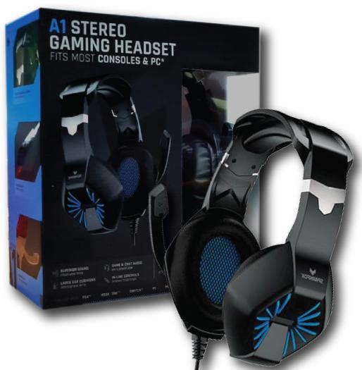 אוזניות Sparkfox Headset A1 Blue ספארקפוקס