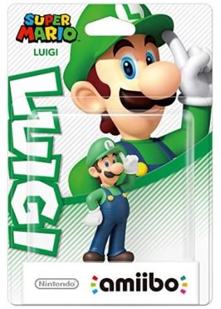 Luigi Amiibo Super Mario Collection Nintendo