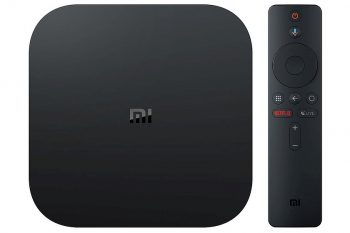 סטרימר Xiaomi Mi Box S 4K Ultra HD Set-Top Box - שנה אחריות