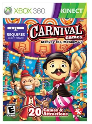Carnival Games: Monkey See Monkey Do - Xbox 360 בקוד דיגיטלי
