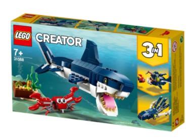 לגו קריאטור - יצורי הים העמוק 31088