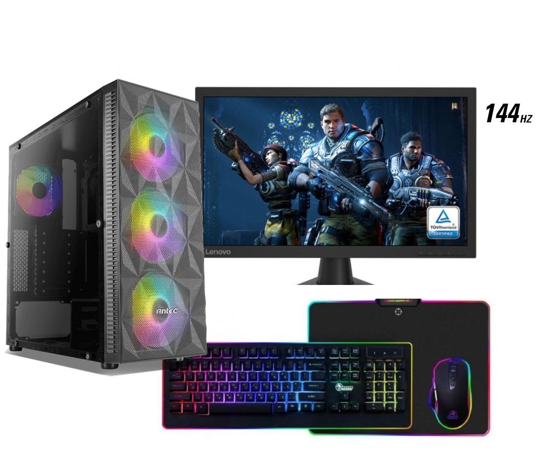 מערכת גיימינג AMD מתקדמת GFS03-R5-3600-RTX3060+מסך גיימינג 144h+ערכת גיימינג ומערכת הפעלה