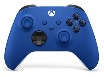 בקר אלחוטי Xbox Wireless Controller לקונסולת XBOX / PC בצבע כחול