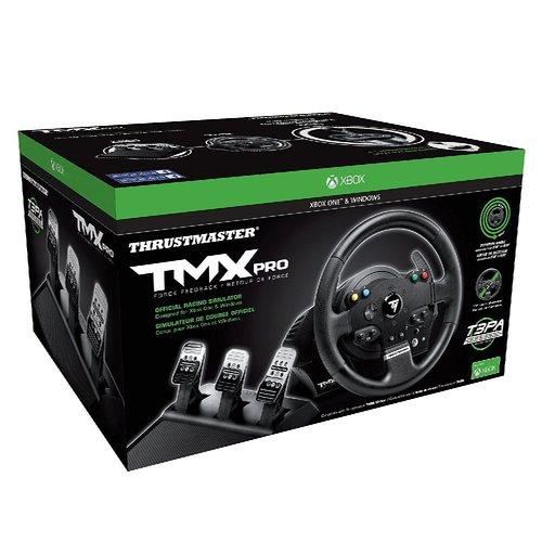 הגה מרוצים + דוושות ThrustMaster TMX PRO לPC / Xbox One