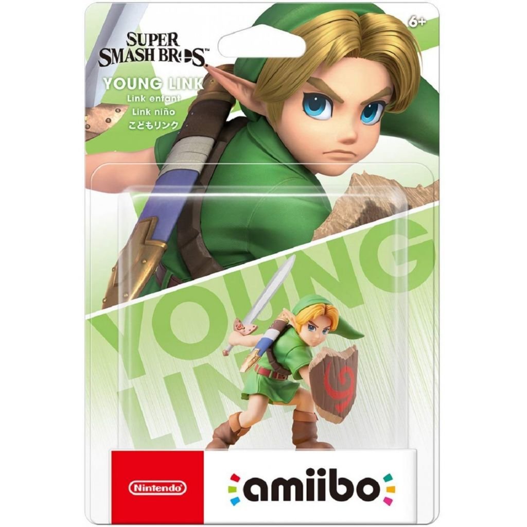 Nintendo Switch Amiibo Young Link Smash