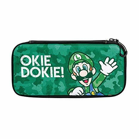 Switch Slim Travel Case - Luigi Camo Edition - Nintendo Switch