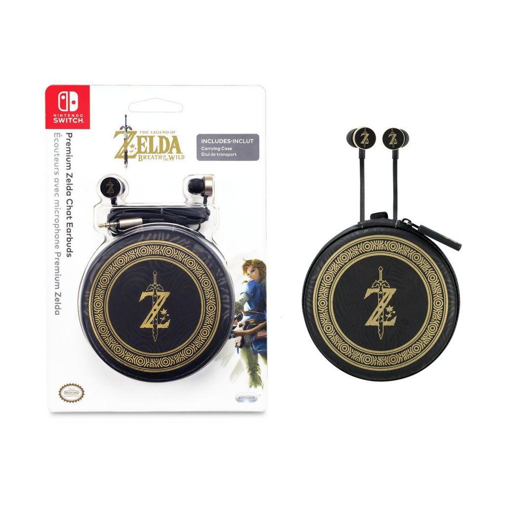 Premium Zelda Chat Earbuds - Nintendo Switch