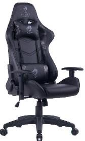 מושב גיימרים Dragon Olympus Chair אפור צבאי שחור