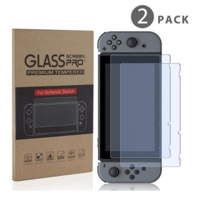 Switch Glass Screen Pro שתי מדבקות באריזה אחת