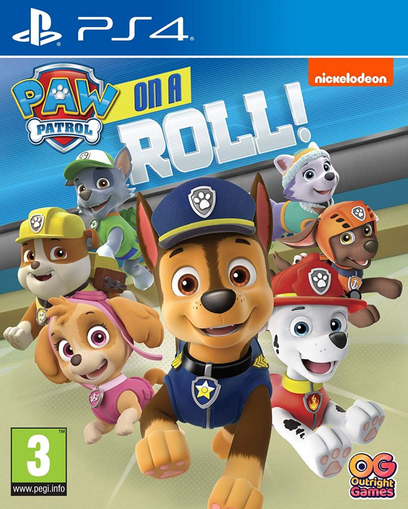 Paw Patrol Is On A Roll PS4