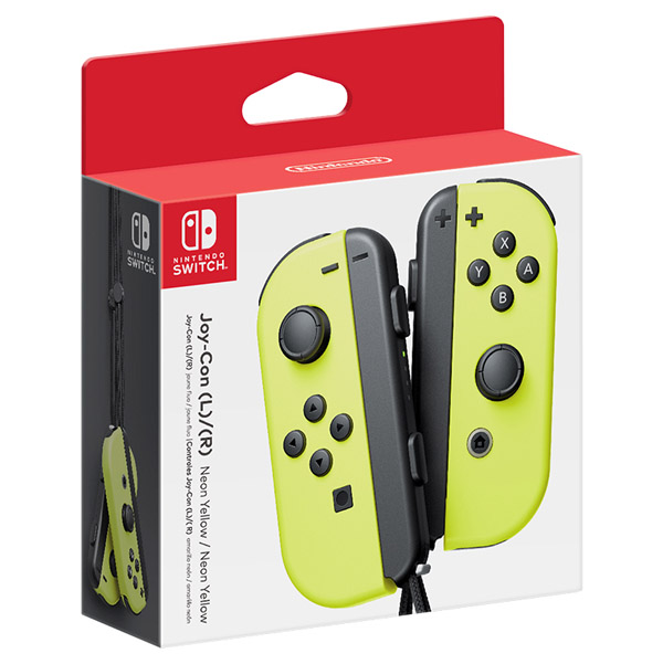 Nintendo Switch Joy-Con Pack Yellow