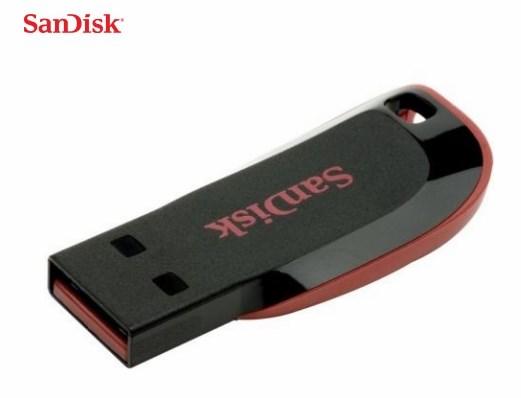 זיכרון נייד SanDisk Cruzer Blade 128GB