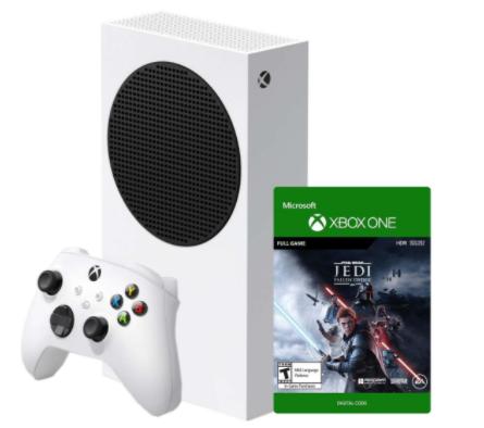 Xbox Series S ומשחק Star Wars Jedi: Fallen Order