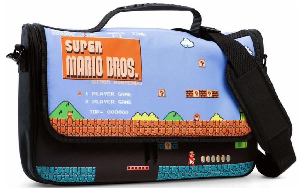 PowerA - Everywhere Messenger Bag for Nintendo Switch - Super Mario Bros. (Nintendo Switch)