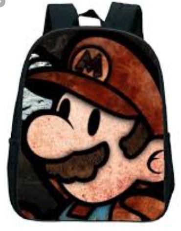 תיק מאריו מעוצב Mario Bros