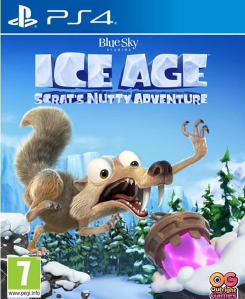 Ice Age: Scrat's Nutty Adventure Ps4 עידן הקרח