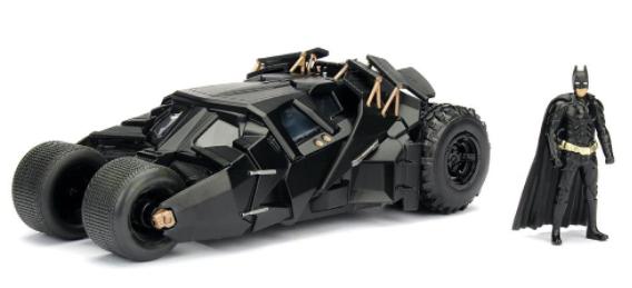 Jada Toys USA   The Dark Knight   Batmobile & Batman