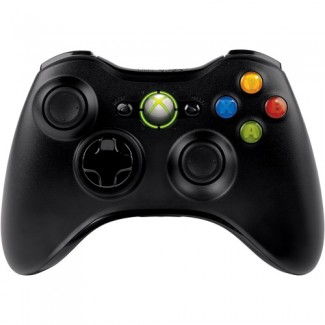 Black Wireless Controller 360 תצוגה