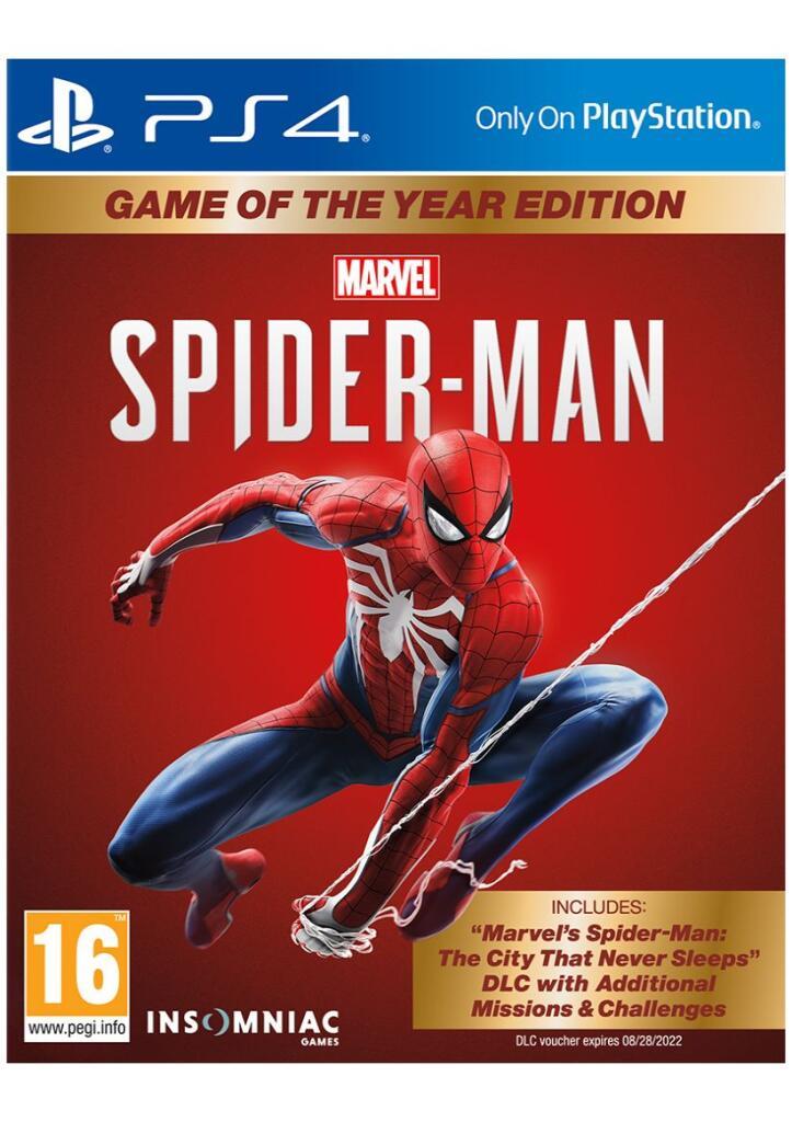 Spider-Man GOTY Edition Ps4