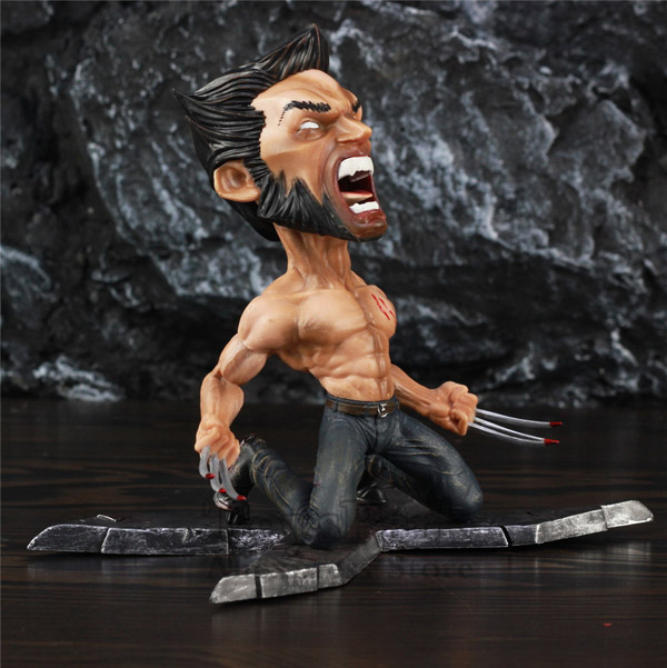 X-Men Wolverine Logan 17cm  בובת וולברין