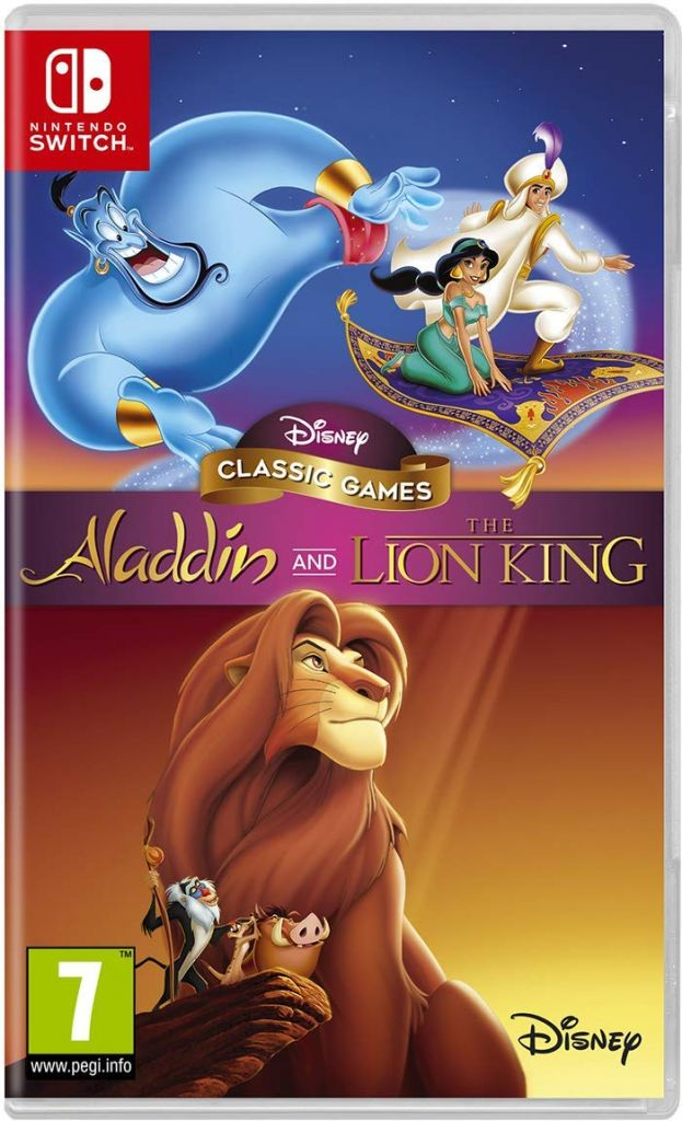 Disney Classic Games: Aladdin and The Lion King Nintendo Switch