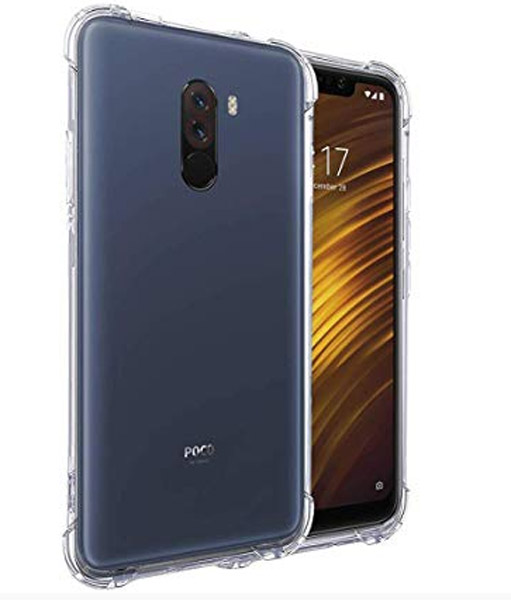 כיסוי שקוף Shock Proof ל-Xiaomi Pocophone F1 פוקופון
