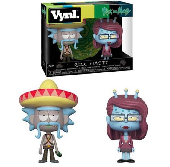 Boneco Funko Vynl - Rick And Morty Rick Sombrero + Unity בובת פופ