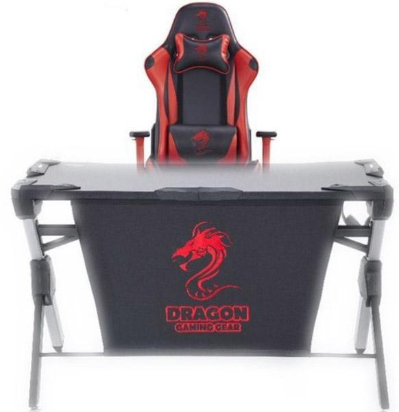 שולחן גיימינג Dragon T1 Gaming Table +כיסא גיימינג Dragon Olympus
