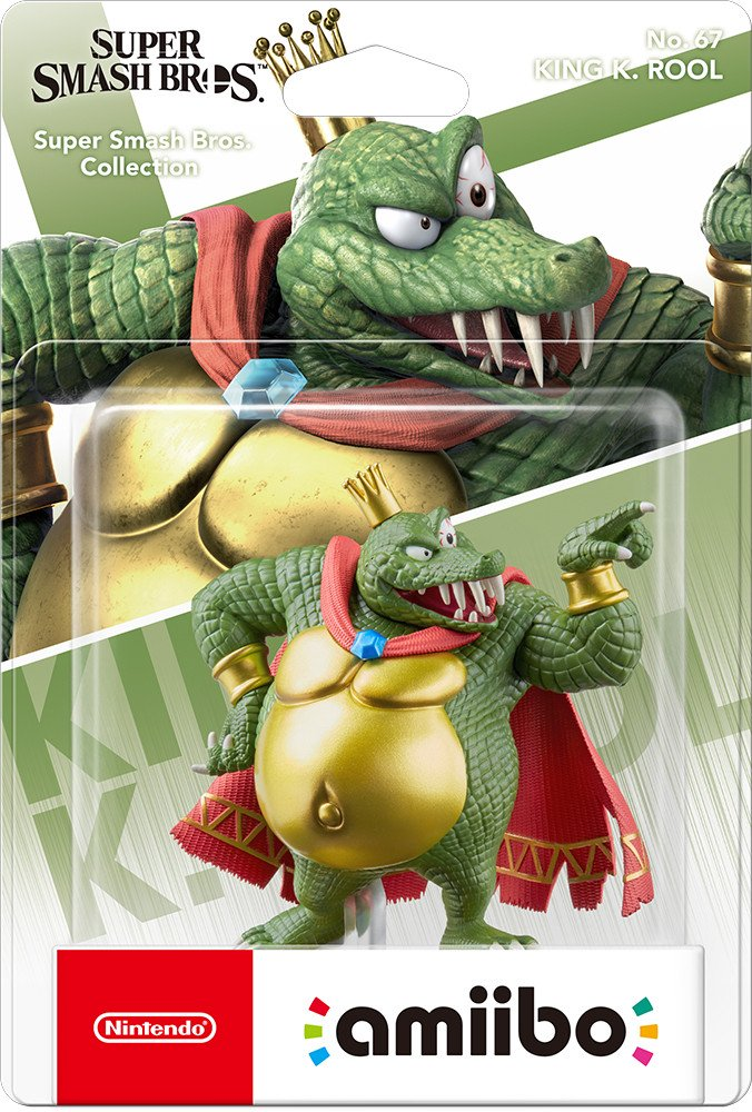 (Nintendo King K. Rool amiibo (Super Smash Bros