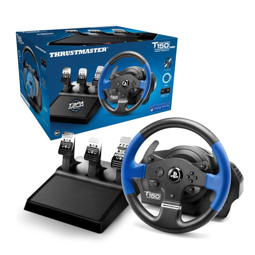 Thrustmaster T150 PRO ForceFeedback PS4/PS3 יבואן רשמי