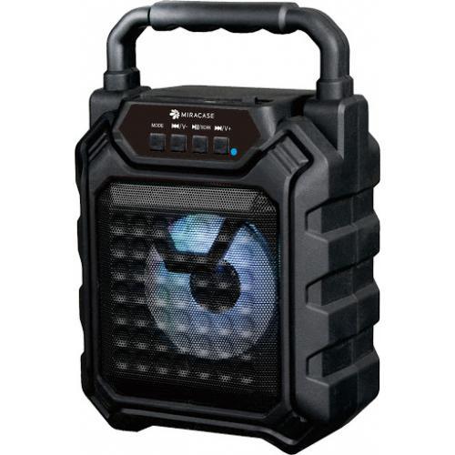 רמקול Bluetooth נייד עם רדיו Miracase MBTS800 - צבע שחור