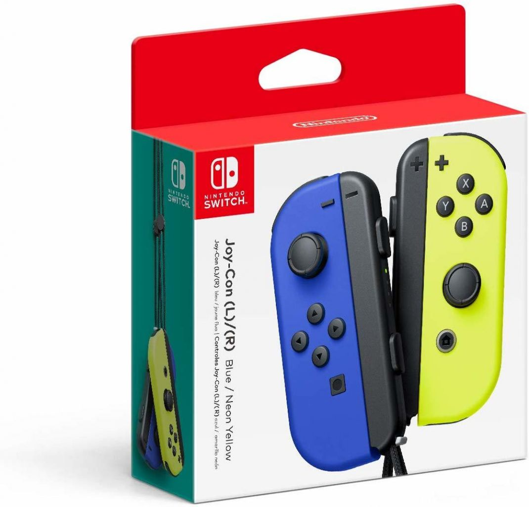 Nintendo Switch Joy-Con Pair Yellow & Blue