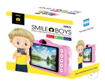 מצלמת ילדים סאמויקס סמייל בויז וורוד SMAILEBOYZ