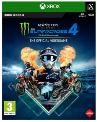 XBOX ONE Monster Energy Supercross The Official Videogame 4