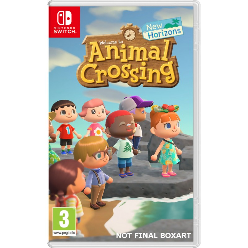Animal Crossing New Horizons Nintendo Switch הזמנה מוקדמת