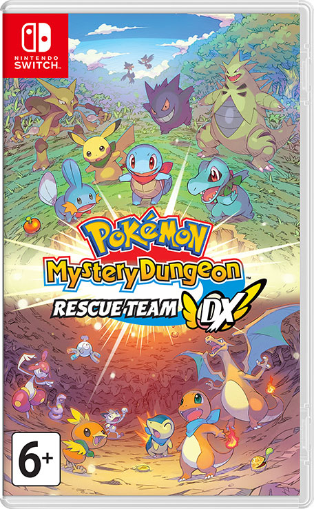 Pokemon Mystery Dungeon: Rescue Team DX Nintendo Switch מכירה מוקדמת