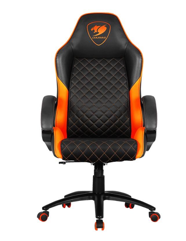 כיסא גיימינג Cougar Fusion שחור כתום
