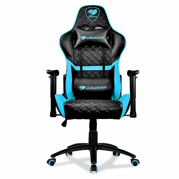 כיסא גיימינג Cougar Armor One Black שחור כחול