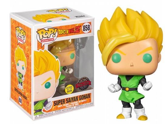 בובת פופ - Dragon Ball Super Saiyan Gohan 858 GW