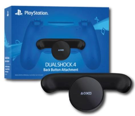 כפתורי גב לבקרים Dualshock 4 PS4 Back Buttons Attachment