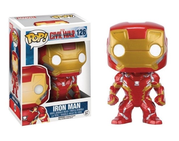IRON MAN - CAPTAIN AMERICA CIVIL WAR (126) - POP MOVIES