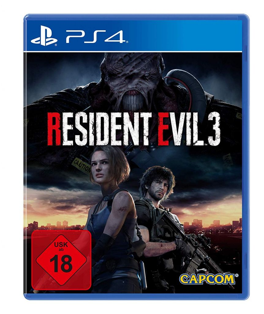 Resident Evil 3 Remake PS4 הזמנה מוקדמת