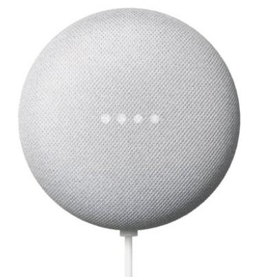 רמקול חכם Google Nest Mini 2 עם עוזרת קולית Google Assistant