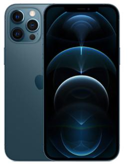 אייפון Apple iPhone 12 Pro Max 256GB בצבע Pacific Blue שנה אחריות