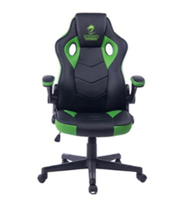 מושב גיימרים Dragon Combat XL Chair ירוק/שחור