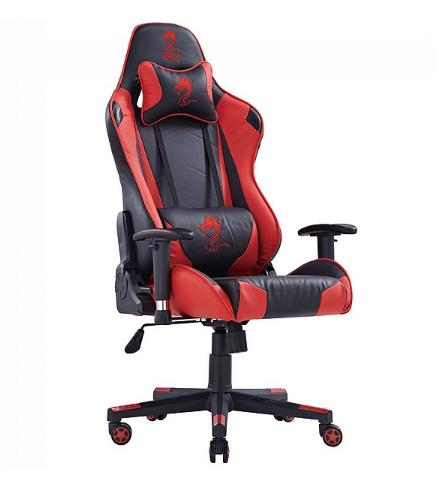 כיסא גיימינג GLADIATOR GAMING CHAIR אדום שחור