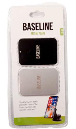 דיסקיות מתכת BASELINE CH-07 (20